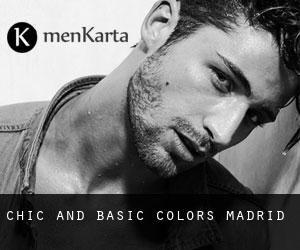 Chic and Basic Colors Madrid